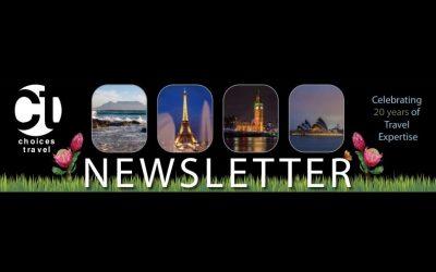 Spring 2021 Newsletter for Travelers